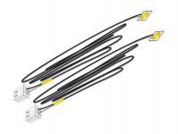 Woodland Scenics JP5742 nalepovací LED dioda žlutá 2 ks