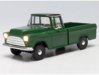 Pickup zelený svítící