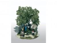 Woodland Scenics M110 Mini-Scene koupající se muž