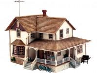 Woodland Scenics PF5196 rodinný dům s rohovou terasou