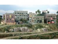 Woodland Scenics S1487 set městských a průmyslových domů