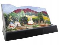 Woodland Scenics SP4133 indiánská vesnice