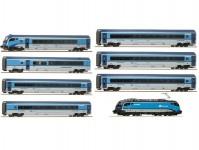 Roco RJCDDCC set vlaku Railjet 7-dílný ČD VI.epocha DCC se zvukem