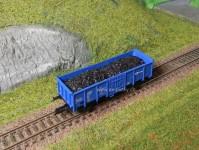 náklad uhlí pro vůz Es Tillig/