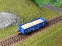 náklad písku pro vůz Es Tillig
