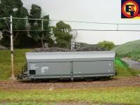 BDDP 29605 náklad uhlí do vozu Wap/Ootru-Piko H0
