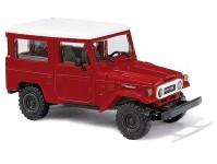 Busch 43032 Toyota Land Cruiser červená