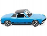 Wiking 79207 VW Porsche 914 světle modré