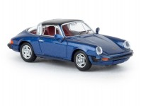 Brekina 16364 Porsche 911 G targa tmavě modrá metalíza