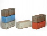 SDV 12097 kontejnery 20Ft ČSD, SŽD, PKP, BDŽ 6ks