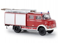 Brekina 47161 Mercedes LAF 1113 TLF 16 hasič červený / bílý