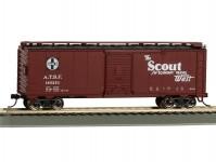 zavřený vůz Scout Santa Fe