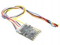 subminiaturní dekodér MX622 připojení holými vodiči