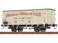 Brawa 49801 pivní vůz Gb Brauhaus Pilsen KKStB I.epocha