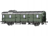 Brawa 46719 služební vůz D2mep CFL III.epocha