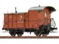 Brawa 48363 služební vůz Pg 12 k nákladnímu vlaku K.P.E.V. I.epocha