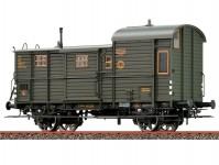Brawa 48364 služební vůz Pwg 12 k nákladnímu vlaku DRG II.epocha