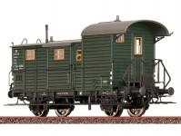 Brawa 48365 služební vůz Pwgi 12 k nákladnímu vlaku DB III.epocha