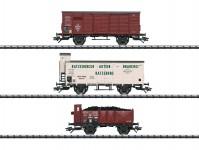 Trix 24148 set nákladních vozů K.P.E.V. I.epocha