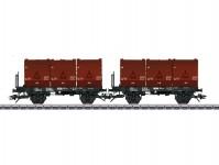 Trix 24177 set vozů na přepravu uhlí DB IV.epocha