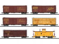 Trix 24914 set nákladních vozů Union Pacific III.epocha