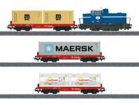 Märklin 29453 startovací set nákladního kontejnerového vlaku