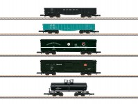 Märklin 82498 set nákladních vozů US IV.epocha