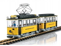 LGB 23363 motorový vůz Kirnitzschtalbahn VI.epocha