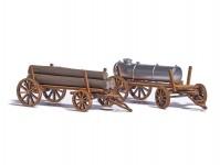 Busch 1386 dřevěné vozy