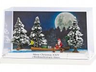 Busch 7618 minidiorama Weihnachtsmann Ahoi