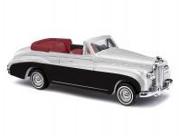 Bentley serie III kabrio stříbrná metalíza