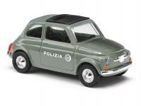 Busch 48730 Fiat 500 Polizia