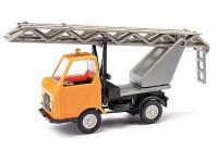 Busch 210003403 Multicar M22 oranžový se žebříkem