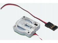 lineární servo s mikroovladačem a uchycením