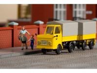Auhagen 43662 Multicar M22 poštovní s přívěsem