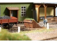 Auhagen 43670 koncovka koleje dřevěná