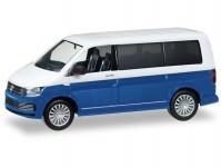Herpa 038730-002 VW T6 Bicolor bílý / modrý