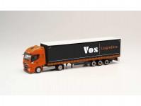 Iveco Stralis NP návěs s plachtou VOS Logistics