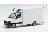 Herpa 013826 MiKi MB Sprinter 2018 Fahrtec RTW bílý