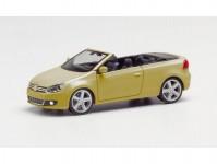 Herpa 034869-002 VW Golf cabrio zlatá metalíza