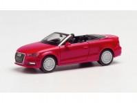 Herpa 038300-002 Audi A3 Cabrio červená metalíza