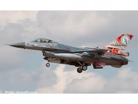 Herpa 570992 F-16A RNLAF 322 75 Years 202