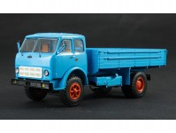 MAZ-500A s korbou modrý