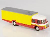 RA Došlý 101401 Škoda 706 RTO stěhovací červený/žlutý H0