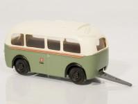 RA Došlý 910405 přívěs Karosa D4 zelený/bílý, oranžový pruh H0
