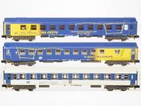 Trix 15737 set spacích vozů ČD VI.epocha