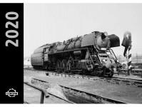 Literatura kaln20par kalendář nástěnný 2020 - Parní lokomotivy