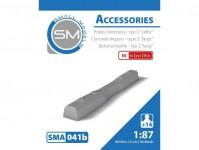 Small Models 041b pražec betonový - typ 2 velký (50ks)