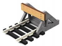 Proses PBF-OO-08 stavebnice koncovky koleje z pravého dřeva 00 1:76 - 2 ks