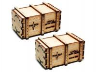 Proses PHL-K-02 dřevěná bedna 2ks
